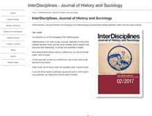 Tablet Preview of inter-disciplines.net